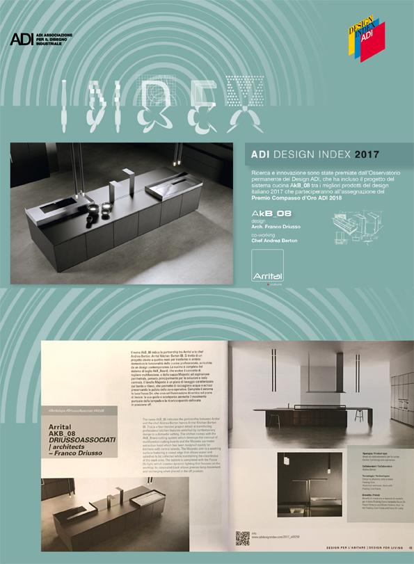 AkB_08 di ARRITAL entra nell'ADI INDEX 2017