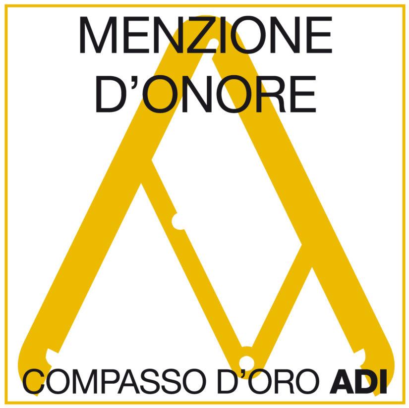 MENZIONE D'ONORE AL XXV COMPASSO D'ORO ADI 2018