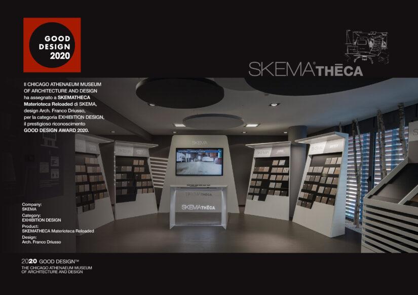 SKEMATHECA vince il GOOD DESIGN AWARD 2020